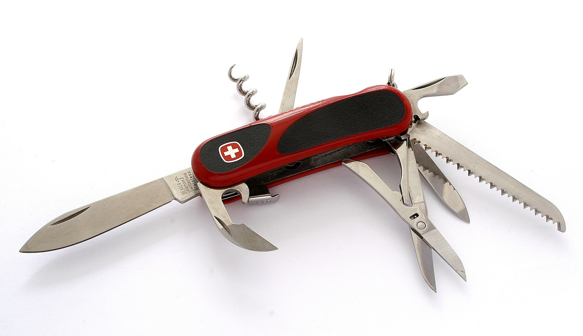 A Wenger Swiss Army knife