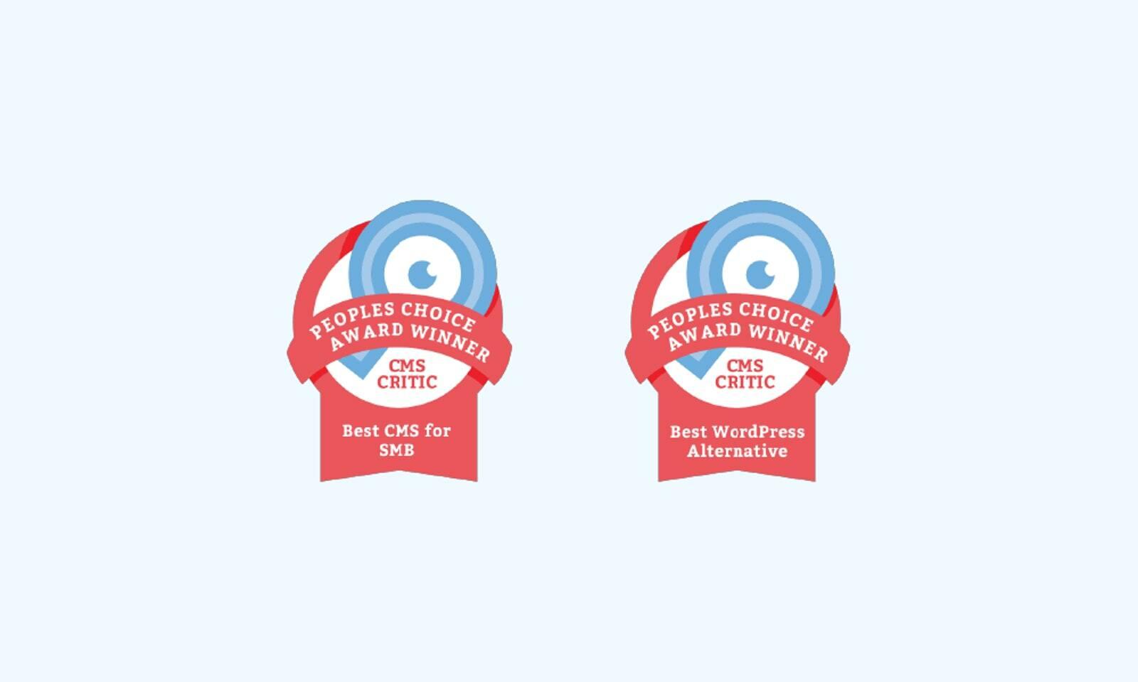 Craft CMS Awards: Best CMS for SMB, and Best WordPress Alternative